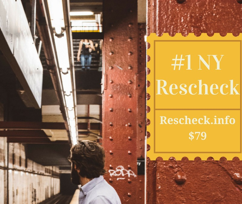 New York and IECC 2015 Rescheck Reports