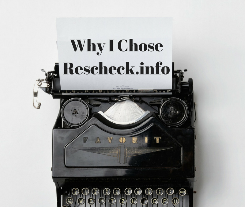 Why you should let us handle your Rescheck