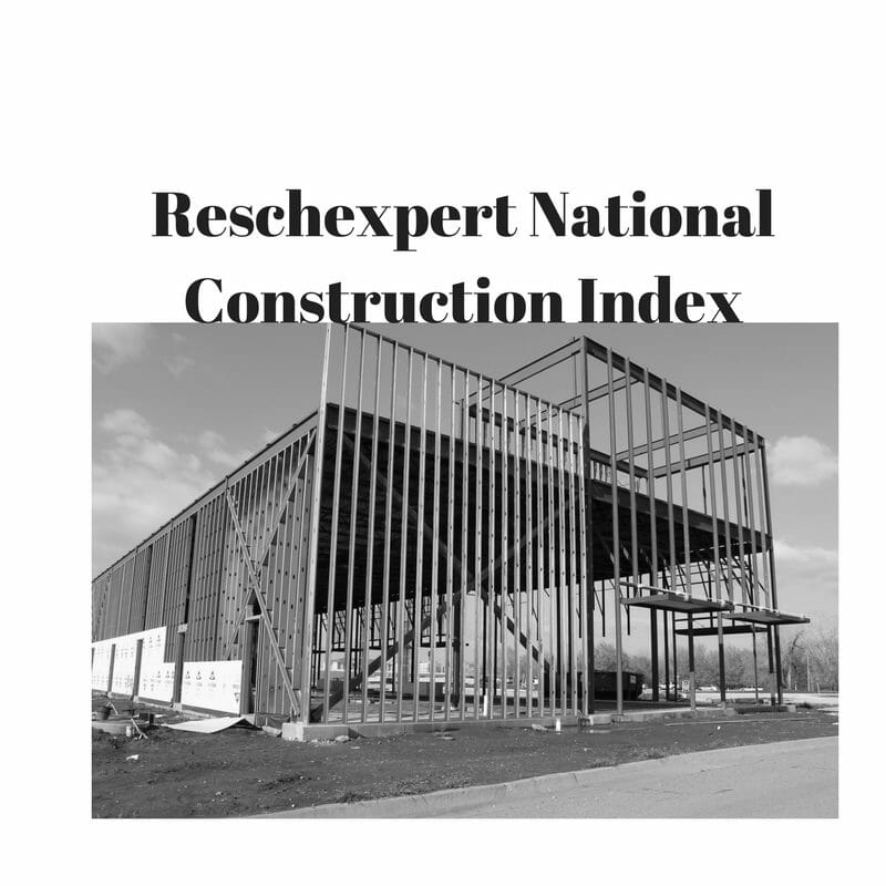 Rescheck National Construction Index January Reading