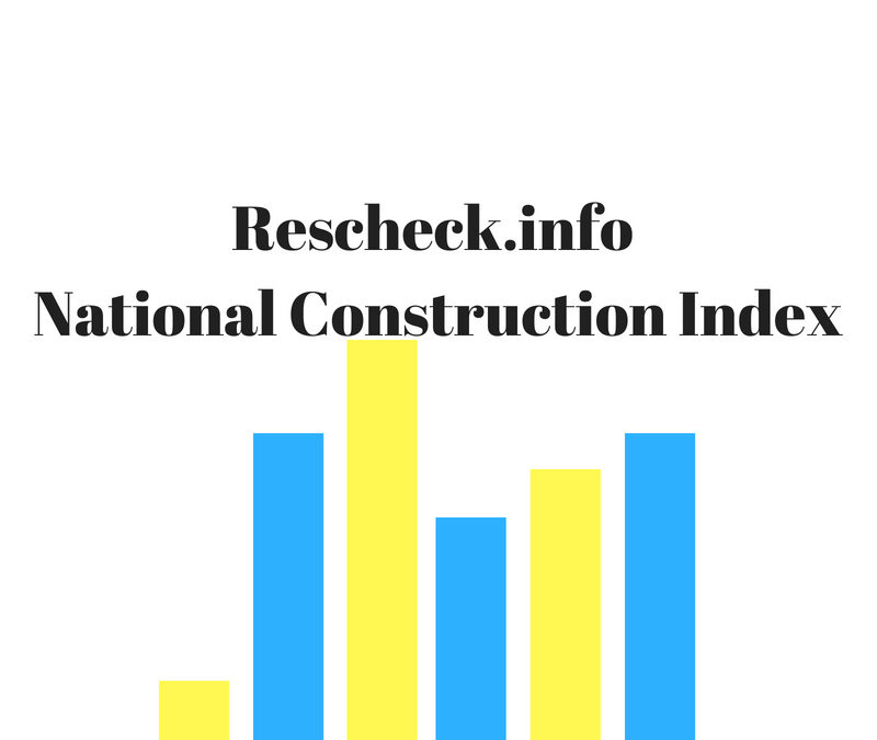 Rescheck National Construction Index September Reading