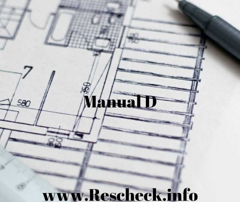 Manual D Duct Layout, CFM, and Duct Sizing Calculation