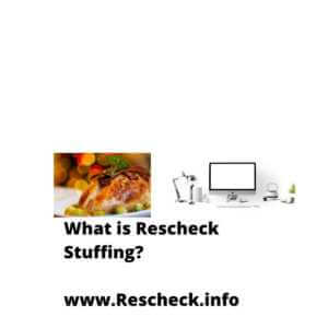 What is Rescheck Stuffing? www.Rescheck.info, Manual J, Manual S, Manual D
